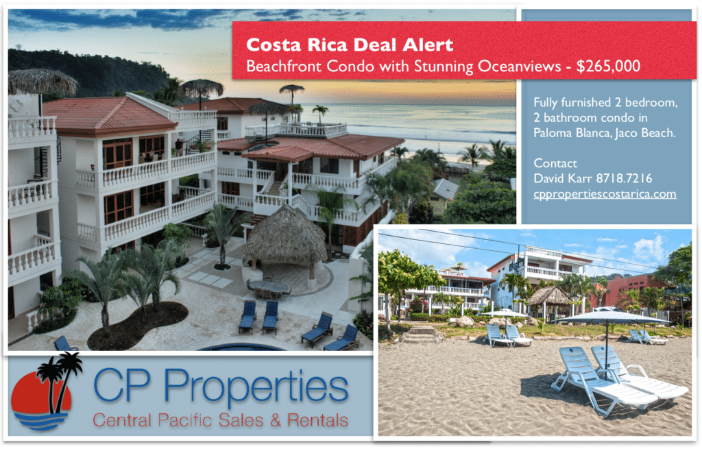 Paloma Blanca Jaco Condo for sale